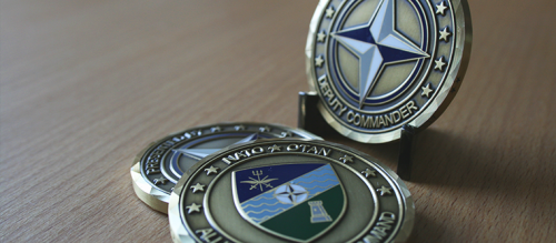 Pièces de monnaie OTAN/NATO