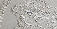 Chorro de arena con fondo plateado