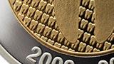 Doble chapado en oro y plata